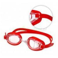 RACING no2 okularki pływackie profesjonalne Anti Fog UV czerwone gWINNER | WYSYŁKA 24h