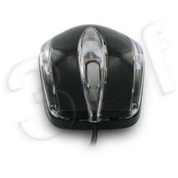 Mysz optyczna BASIC1 USB 800dpi czarna (mysz)