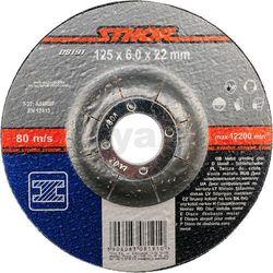 Tarcza do szlifowania metalu 125 x 6,0 x 22 mm / 08191 / STHOR - ZYSKAJ RABAT 30 ZŁ, T08191 (2446161)
