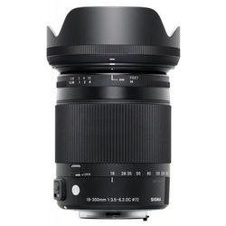 Obiektyw SIGMA C 18-300/3.5-6.3 DC MACRO OS HSM Nikon + DARMOWY TRANSPORT!