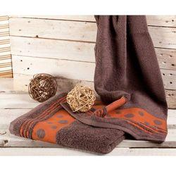 Dekoria  ręcznik castelo loft czekolada, 70x140cm