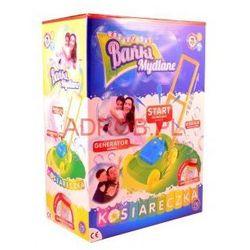 KOSIARECZKA Z BAŃKAMI MYDLANYMI BAŃKI DOUBLE BUBBLE z kategorii zabawki AGD