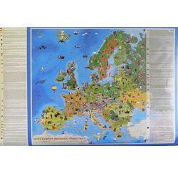 Mapa ścienna Europa Młodego odkrywcy (mapa szkolna)