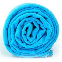 xl szybkoschnący ręcznik treningowy 70x140 cm / niebieski - niebieski marki Dr.bacty