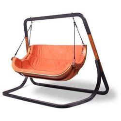bujany fotel wiszący trapezoid double, pomarańczowy marki Igotherm