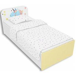 Łóżko dla dziewczynki z jednorożcem 90x200 Lili 10X - 3 kolory