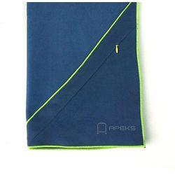 m szybkoschnący ręcznik treningowy z kieszonką - granatowy marki Dr.bacty