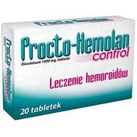 PROCTO-HEMOLAN CONTROL 1000 mg 20 tabletek, postać leku: tabletki