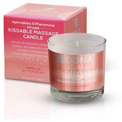 Dona Świeca do masażu - azjatycki i lomi lomi -  kissable massage candle waniliowa