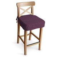 Dekoria Siedzisko na krzesło barowe Ingolf, śliwkowy, krzesło barowe Ingolf, Madrid
