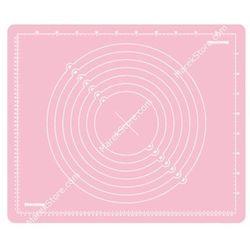 Stolnica silikonowa z podziałką - 55x45 cm |  delicia deco - odcienie różu wyprodukowany przez Tescoma