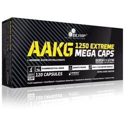 Aakg 1250 extreme mega caps 120kaps - 120kaps, marki Olimp sport nutrition