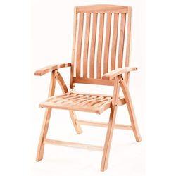 RIWALL krzesło ogrodowe Malibu z mahoniu