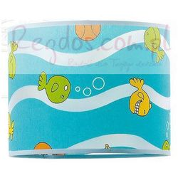 Lampa wisząca rybki niebieska marki Alfa