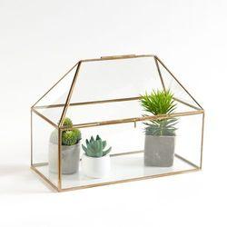 La redoute interieurs Mini szklarnia ze szkła i mosiądzu uyova (3613959447047)