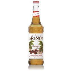 Syrop kasztan chestnut  700ml wyprodukowany przez Monin