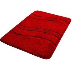 Bisk Dywanik łazienkowy one 60 x 90 cm mikrofibra czerwony