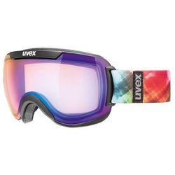 Gogle narciarskie  downhill 2000 vm fotochromowe czarno-niebieski wyprodukowany przez Uvex