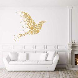 Szablon na ścianę abstrakcyjny gołąb 2364 marki Wally - piękno dekoracji