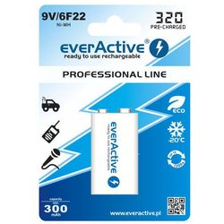 Akumulatorek  6f22/9v ni-mh 320 mah ready to use od producenta Everactive