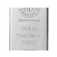 1000g sztabka srebra mennica Argor-Heraeus Szwajcaria