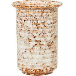Wazon bloomingville 14 cm brązowy kamionkowy (5711173183470)