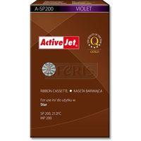 a-sp200 kaseta barwiąca kolor fioletowy do drukarki igłowej star (zamiennik sp200) od producenta Activejet
