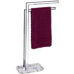 Łazienkowy stojak na ręczniki ONYX - 2 ramienny, chromowany, WENKO (4008838155363)