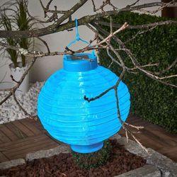 Best season Solarny lampion led jerrit 20 cm, niebieski