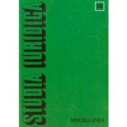 Studia Iuridica t.56, książka z kategorii Czasopisma