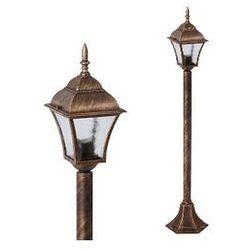 Zewnętrzna LAMPA stojąca TOSCANA 8395 Rabalux IP43 OPRAWA ogrodowa SŁUPEK outdoor złoto antyczne ze sklepu =MLAMP.pl= | Rozświetlamy Wnętrza