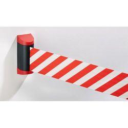 Pas odgradzający,kaseta z tworzywa: czerwona marki Tensator