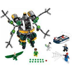 SUPER HEROES SPIDERMAN: PUŁAPKA Z MACKAMI Spider-Man: Doc Ock's Tentacle Trap 76059 marki Lego