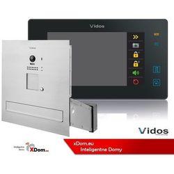zestaw wideodomofonu skrzynka na listy monitor 7 cali s1201-sk+m1021b marki Vidos