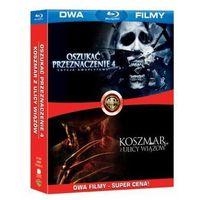 Galapagos films / warner bros. home video Bd 2 pack koszmar z ulicy wiązów/oszukać przeznaczenie 4 (2bd) (7