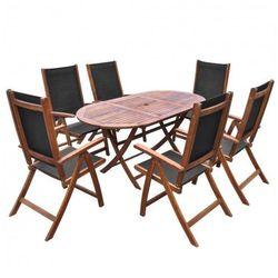 Zestaw mebli ogrodowych wucan - brązowy marki Producent: elior