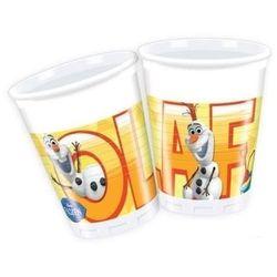 Kubeczki urodzinowe Olaf - Frozen - Kraina Lodu - 200 ml - 8 szt.