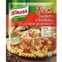 36g fix świderki z kiełbasą w sosie grzybowym marki Knorr
