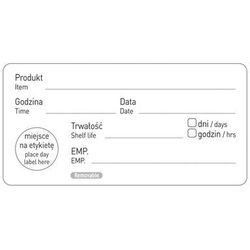 Hendi Naklejka food safety - data przydatności