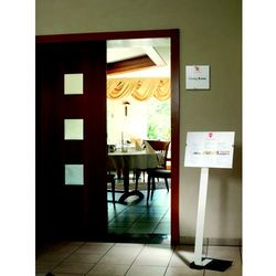 CRYSTAL SIGN stand A3, tablica informacyjna A3, Durable, 481923_d