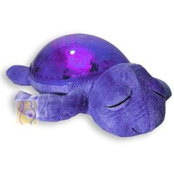 Cloud b Lampka nocna żółw podwodny fioletowy cltt-7423-prl