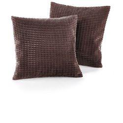 Narzuta na sofę w wypukły wzór bonprix brązowy