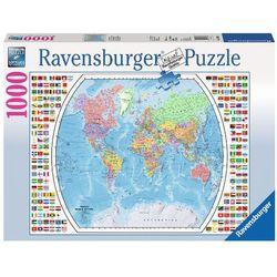 RAVEN. 1000 EL. Mapa polityczna świata od www.cud.pl