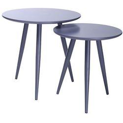 Zestaw stolików LEO szare (5900168809178)
