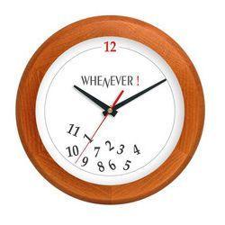 Zegar drewniany rondo whenever, ATW301WE