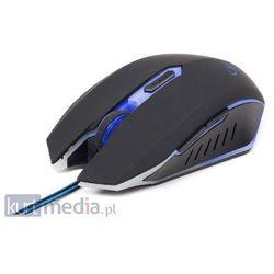 GEMBIRD myš MUSG-001-B optická, modro-černá, 2400 dpi, USB (mysz)