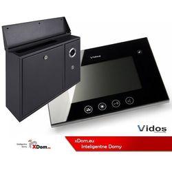 Vidos Zestaw skrzynka na listy z wideodomofonem. monitor 4,3'' s551-skn_m670b
