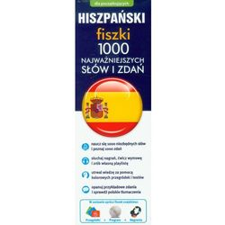 Hiszpański Fiszki 1000 najważniejszych słów i zdań - oferta [55e16a2ac50556f0]