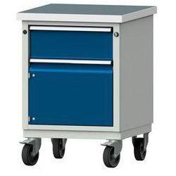 Anke werkbänke - anton kessel Kompaktowy stół warsztatowy, blat uniwersalny,szer. x głęb. 605 x 650 mm, 1