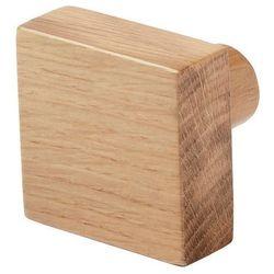 Wieszaczek drewniany GoodHome Nantua naturalny, HK1801220